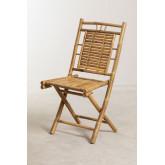 Cadeira de jantar dobrável de bambu Yakku, imagem miniatura 2
