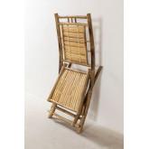 Cadeira de jantar dobrável de bambu Yakku, imagem miniatura 5