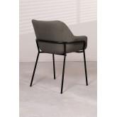 Leni Fabric Dining Chair, imagem miniatura 3