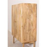 Guarda-roupa de madeira absy, imagem miniatura 3