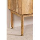Guarda-roupa de madeira absy, imagem miniatura 6