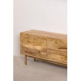 Armário de TV de madeira com porta Absy, imagem miniatura 3