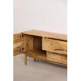 Armário de TV de madeira com porta Absy, imagem miniatura 4