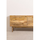 Armário de TV de madeira com porta Absy, imagem miniatura 5