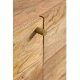 Armário de TV de madeira com porta Absy, imagem miniatura 6