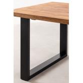 Mesa de jantar de madeira reciclada Milet, imagem miniatura 5