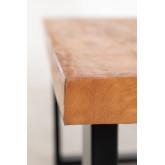 Mesa de jantar de madeira reciclada Milet, imagem miniatura 6