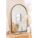 Espelho de parede clovis metal, imagem miniatura 1