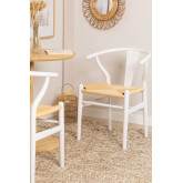 Cadeira de jantar de madeira com design Uish, imagem miniatura 1