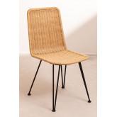 Cadeira de jantar de vime Sunset Vali , imagem miniatura 2