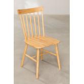 Cadeira de jantar natural Shor, imagem miniatura 2
