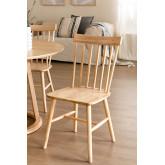 Cadeira de jantar natural Shor, imagem miniatura 1