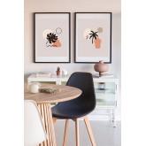 Conjunto de 2 folhas decorativas (50x70 cm) Fulis, imagem miniatura 1