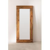 Espelho de madeira reciclada (178,5 x 79 cm) Drev, imagem miniatura 1