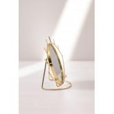 Espelho de mesa em Metal Lubin, imagem miniatura 4