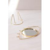 Espelho de mesa em Metal Lubin, imagem miniatura 5
