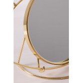 Espelho de mesa em Metal Lubin, imagem miniatura 6