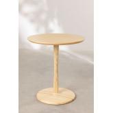 Mesa de jantar redonda em madeira Tuhl Ash, imagem miniatura 2