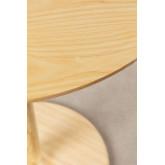 Mesa de jantar redonda em madeira Tuhl Ash, imagem miniatura 3