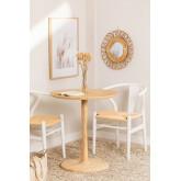 Mesa de jantar redonda em madeira Tuhl Ash, imagem miniatura 1