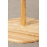 Mesa de jantar redonda em madeira Tuhl Ash, imagem miniatura 6