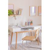 Mesa de escritório em madeira Baldri, imagem miniatura 1