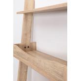 Mesa de pinho Zina e madeira de abeto com prateleiras, imagem miniatura 4