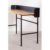 Mesa de madeira e metal Verthia, imagem miniatura 3