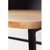 Mesa de madeira e metal Verthia, imagem miniatura 5