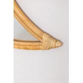 Espelho de parede de rattan (50,5 x 36,5 cm) Onell, imagem miniatura 4