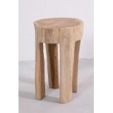 Mesa lateral de madeira Dery, imagem miniatura 2