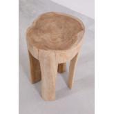 Mesa lateral de madeira Dery, imagem miniatura 3