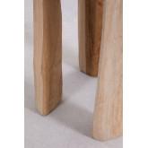 Mesa lateral de madeira Dery, imagem miniatura 4