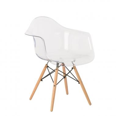 Cadeira com braços IMS Transparente