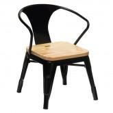 Cadeira com braços Mini Lix Kids Madeira, imagem miniatura 1