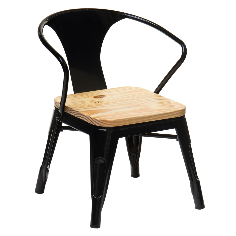 Cadeira com braços Mini Lix Kids Madeira, imagem de galeria 1