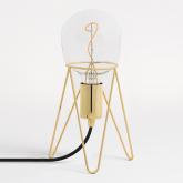 Lámpara Kate Metalizada
