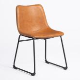 Cadeira Forrada em Pele Sintética Ody , imagem miniatura 2