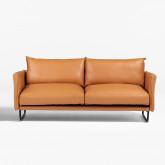 Sofá de 3 lugares em Polipele Baldur, imagem miniatura 3