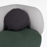 Sofá de 3 lugares em Tecido Liteh, imagem miniatura 4