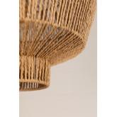 Candeeiro do teto de papel trançado Amaris, imagem miniatura 5