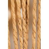 Candeeiro do teto de papel trançado Amaris, imagem miniatura 6