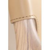 Cadeira Leges de couro sintético com braços, imagem miniatura 5