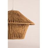 Candeeiro de teto de papel trançado Jous, imagem miniatura 5