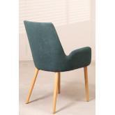 Cadeira de jantar Azra Rubber Wood, imagem miniatura 3