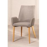 Cadeira de jantar Azra Rubber Wood, imagem miniatura 1