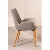 Cadeira de jantar Azra Rubber Wood, imagem miniatura 2