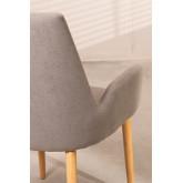 Cadeira de jantar Azra Rubber Wood, imagem miniatura 5