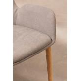 Cadeira de jantar Azra Rubber Wood, imagem miniatura 4
