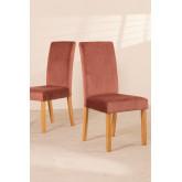 Pack de 2 cadeiras de jantar Cindy Velvet, imagem miniatura 2